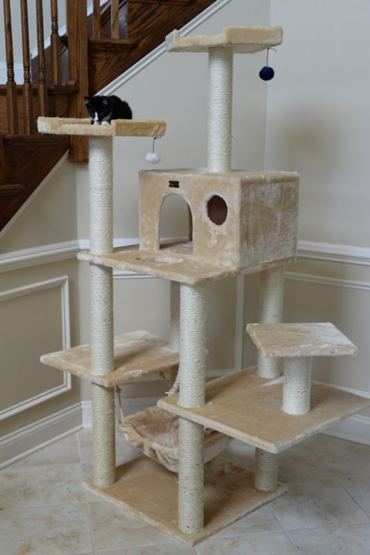 72 Inch Deluxe Cat Jungle Gym