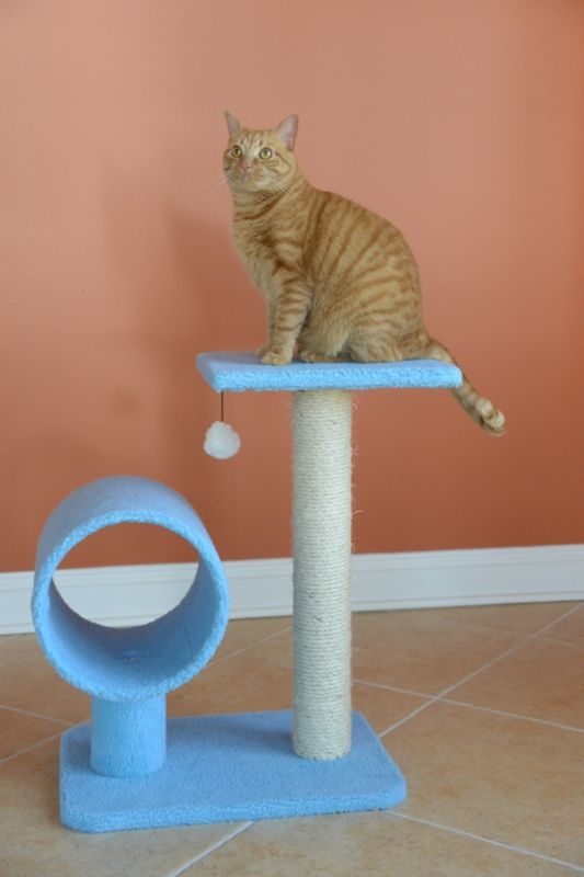 26 Inch Cat Tower with Scratcher