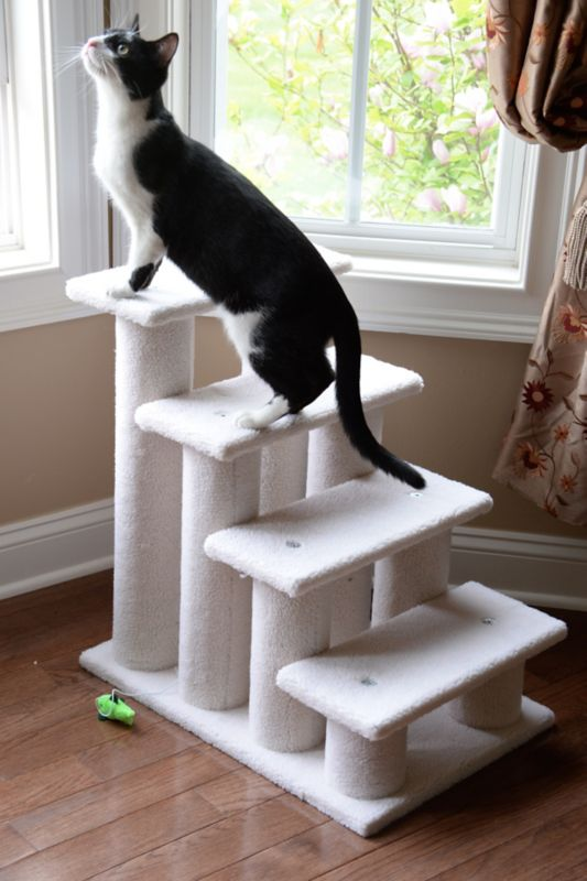 4 Step Fleece Pet Steps