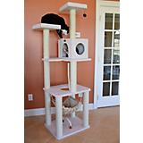 73 Inch Cat Tower with Hammock