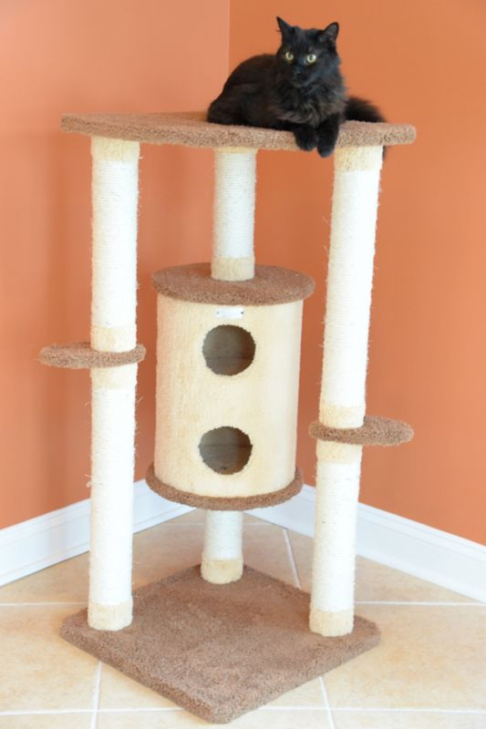 44 Inch Cat Tree with Sisal