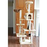 78 Inch Cat Jungle Gym with Hammock and Rope