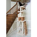 84 Inch Cat Tower with Ladder and Lookout