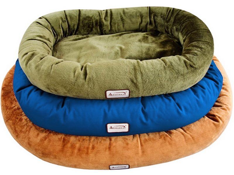 Waterproof Velvet Pet Bed Small Sage Green