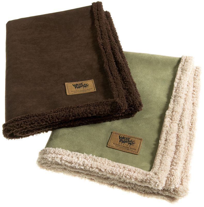 Big Sky Pet Blanket  Medium Espresso Brown