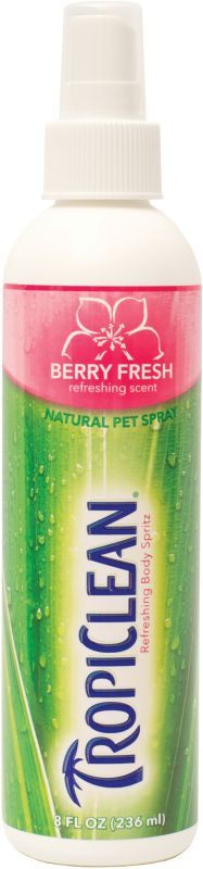 Tropiclean Pet Cologne Spritz Baby Powder