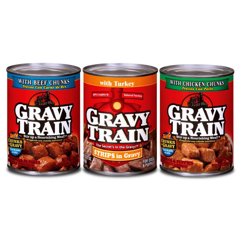 gravy train canned dog food case turkey on lovemypets.com