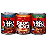 Gravy Train Canned Dog Food Case