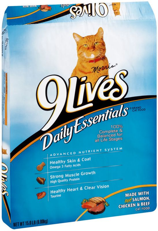 9 Lives Daily Essentials Dry Cat Food Best Price