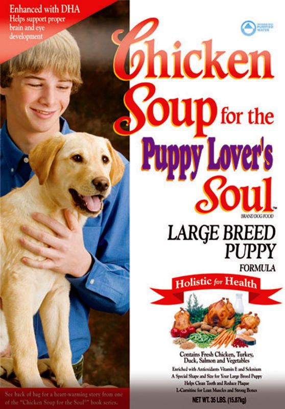 Chicken Soup For The Dog Lover S Soul Large Breed Puppy