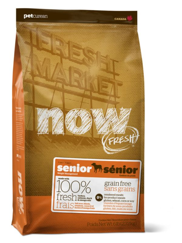 Now Senior Dry Dog Food 25lb