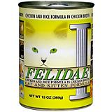 Felidae Chicken and Rice Canned Cat Food 12 Pack