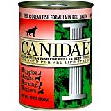 Canidae Beef and Fish Canned Dog Food Case