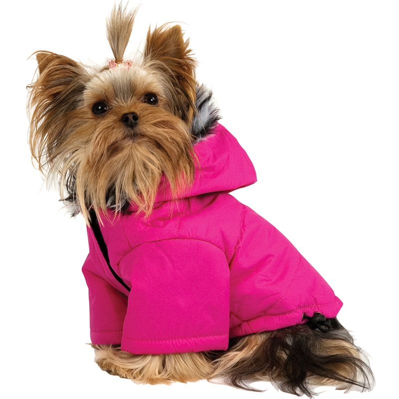 Paw Appeal Arctic Dog Jacket LG Black