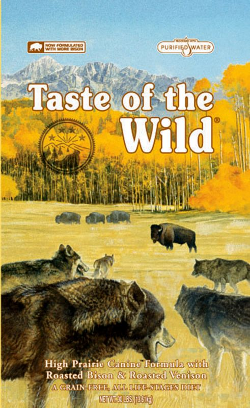Taste Of The Wild High Prairie Dry Dog Food 5lb