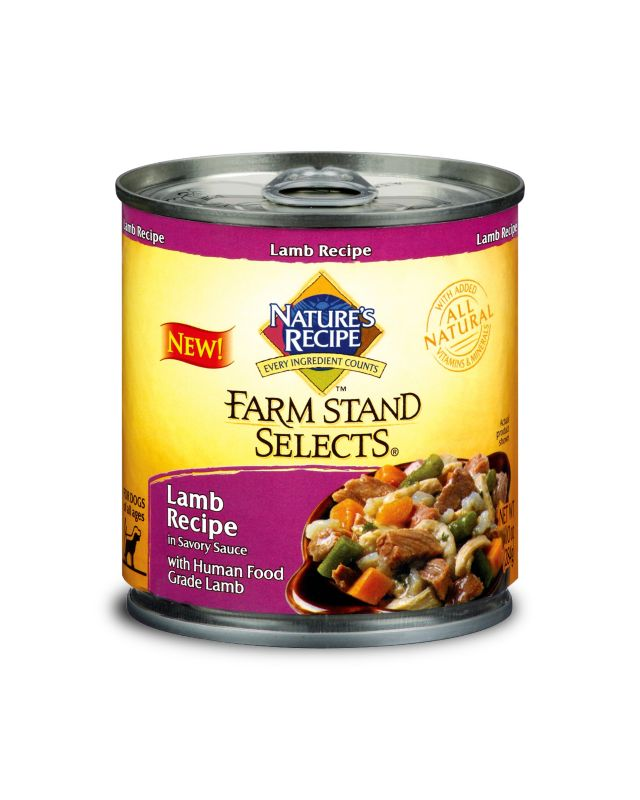 Farm Stand Selects Canned Dog Food Case Salmon