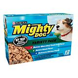 Mighty Dog Select Menu Variety Can Dog Food Case