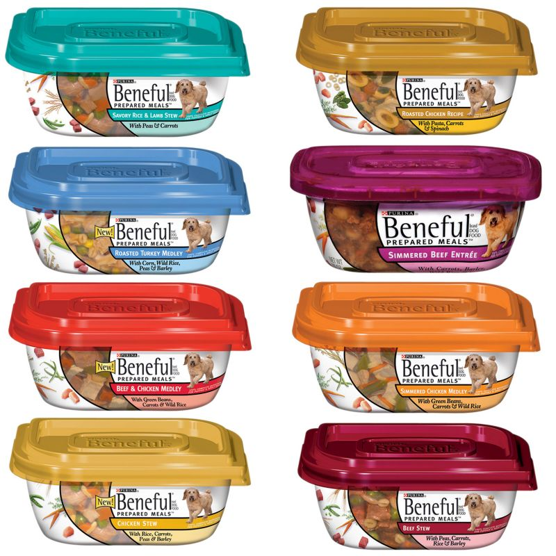 Beneful Prepared Meals Can Dog Food Beef/Chicken