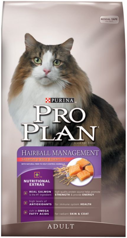 ProPlan Hairball Mgmt Salmon Dry Cat Food 7lb