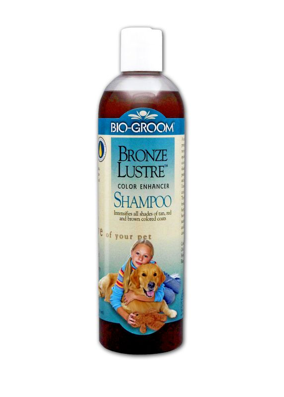 Bio-Groom Bronze Luster Dog Shampoo 12oz
