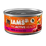 Iams Premium Pate Can Cat Food Case