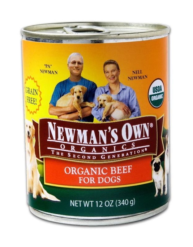 Newmans Own Organic Grain Free Can Dog Food Beef Best Price