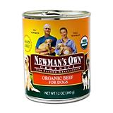 Newmans Own Organic Grain Free Can Dog Food