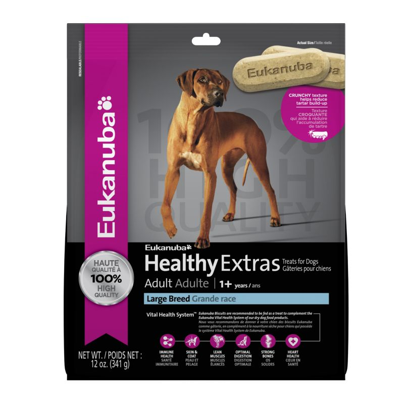 Eukanuba Healthy Extras Lg Breed Dog Treat Dog Treats Best Price