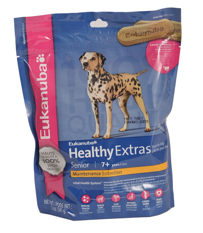 Eukanuba Healthy Extras Senior Dog Treat Dog Treats Best Price