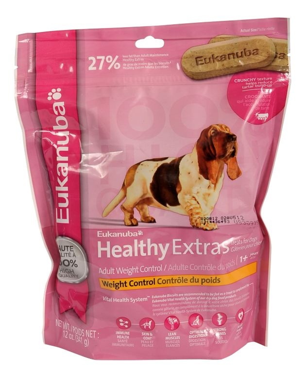 Eukanuba Healthy Extras Reduced Fat Dog Treat Dog Treats Best Price