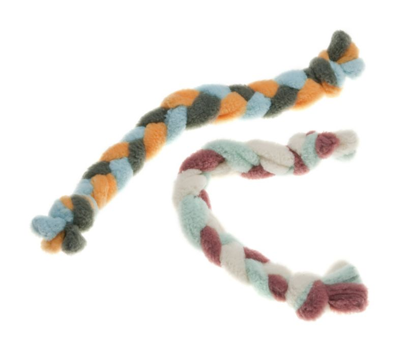Eco Friendly Twist Dog Toy Fiesta/Porcel/Bungee
