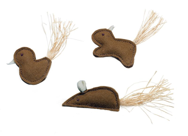 Natural Animals Eco Cat Toy Set
