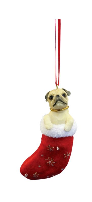 Little Pals Holiday Ornament Pug Best Price