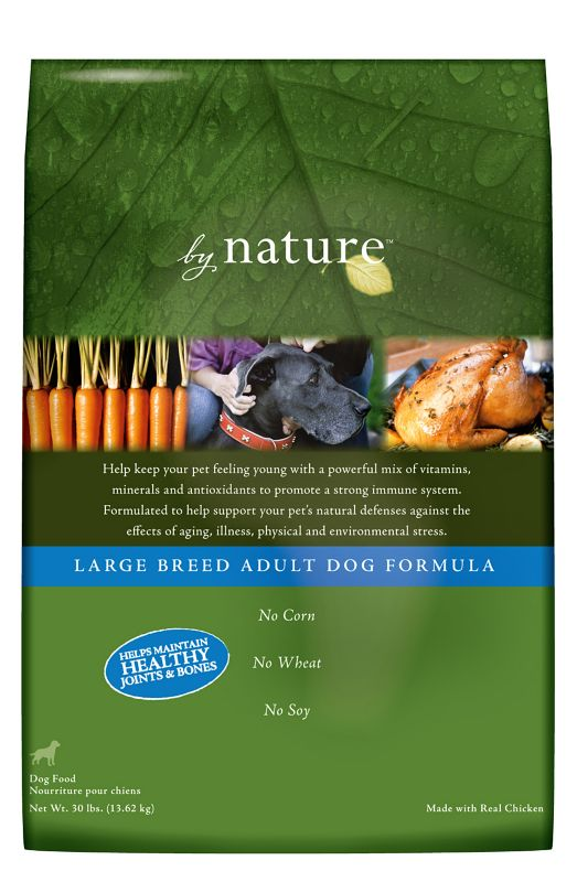 By Nature Natural Large Breed Dry Dog Food