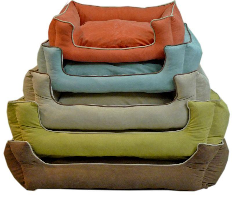 Kuddle Lounge Couch Dog Bed Medium Apricot
