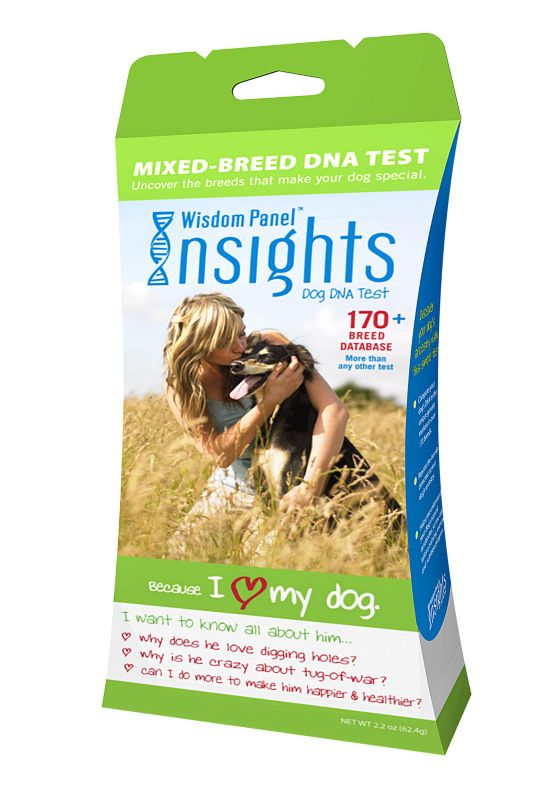 Wisdom Panel Insights Dog DNA Test