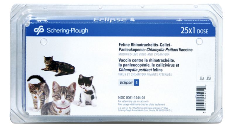 Eclipse 4 Cat Vaccine