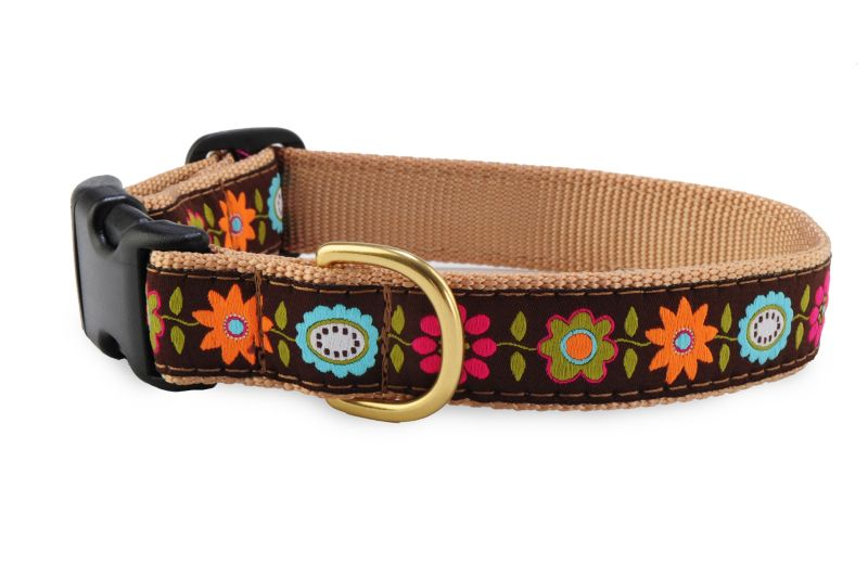 Up Country Bella Floral Dog Collar X-Small