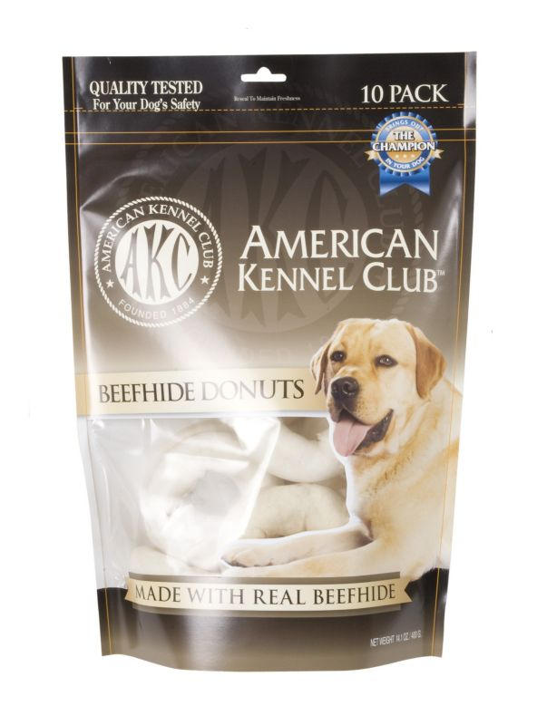 AKC Beefhide Donuts Dog Treat Best Price