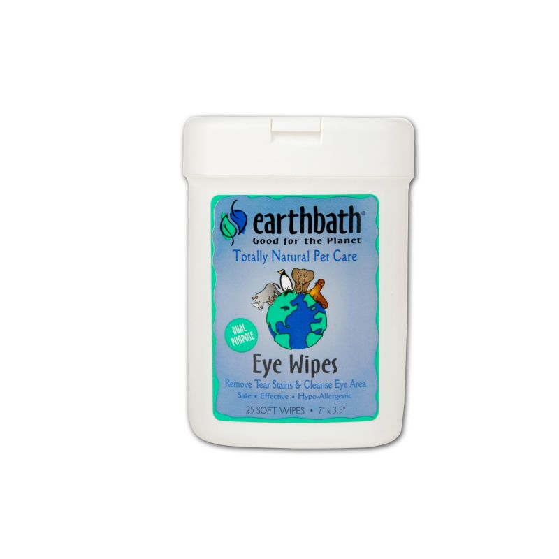Earthbath Natural Pet Eye Wipes