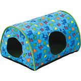 KH Mfg Indoor Kitty Camper Green Cat Bed