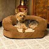 KH Mfg Ortho Bolster Sleeper Brown Dog Bed