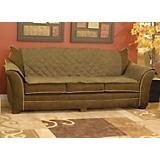 KH Mfg Loveseat Mocha Furniture Cover