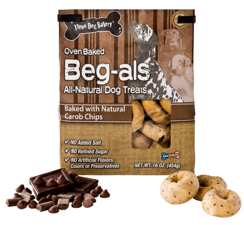 3 Dog Bakery Begal Dog Treat Carob Chip Best Price