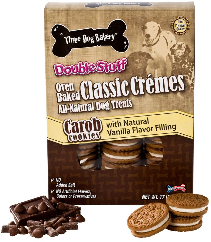 3 Dog Bakery Classic Creme Dog Treat Peanut Butter