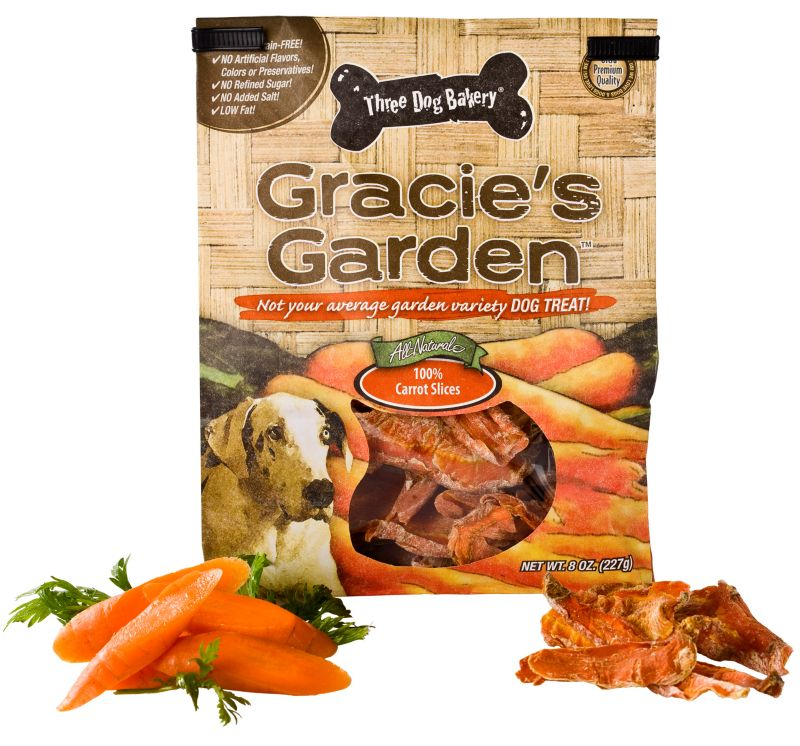 3 Dog Bakery Gracies Garden Dog Treat Carrot Dog Treats Best Price