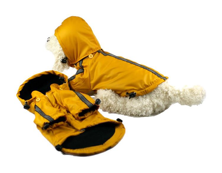 Pet Life Reflecta-Sport Dog Raincoat XSmall