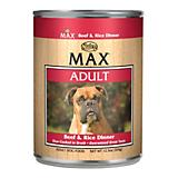 Nutro Max Beef and Rice Canned Dog Food 12 Pack