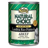 Natural Choice Dog Food 12.5oz Case