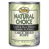 Natural Choice Lg Breed Lamb/Rice Puppy Food 12 Pk